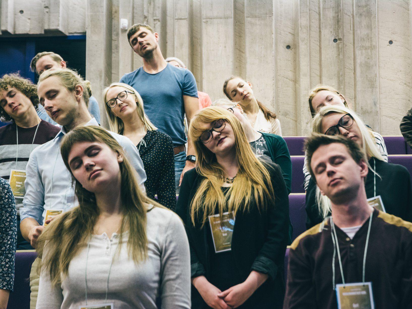 Hommikused ringutused Maailmamuutjate koolis. Foto: Taavi Muide