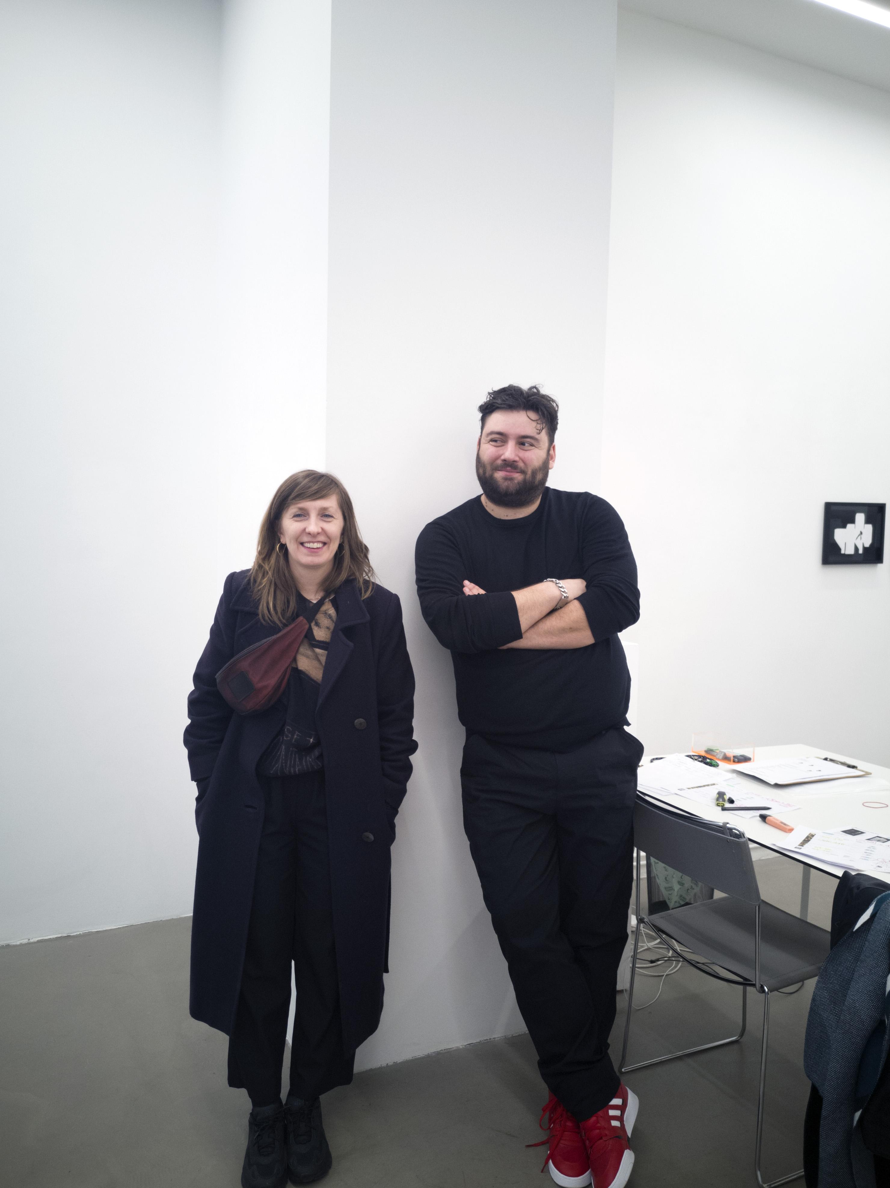 Marge Monko ja Russi Klenner. Foto: Aleksander Tsapov