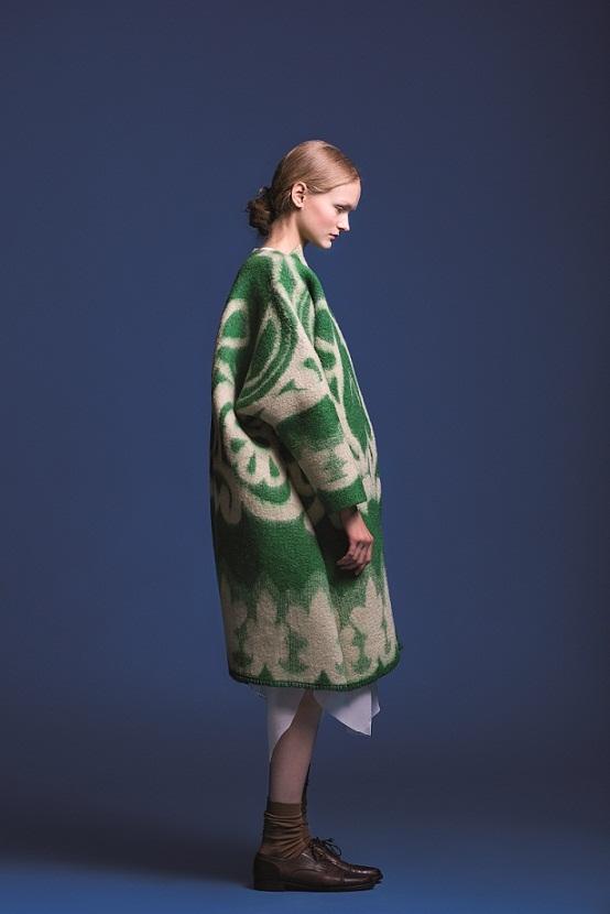 """Uussiirus moekunstis? Marit Ilisoni projekti """"Magada tahaks"""" (2013) saab näha järgmisena Londoni moenädalal. Foto: Maiken Staak."""