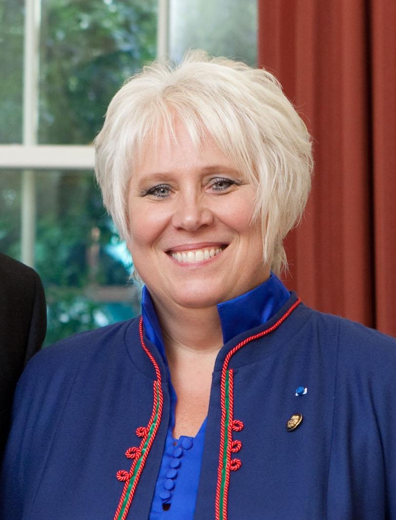 Müürileht nomineerib Eesti peaministri kohale Marina Kaljuranna. Foto: Lawrence Jackson (CC BY 2.0)