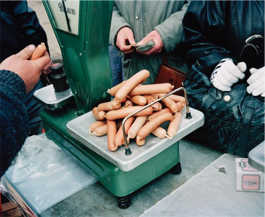 Martin Parri jäädvustus Tallinna turult 1992. aastal