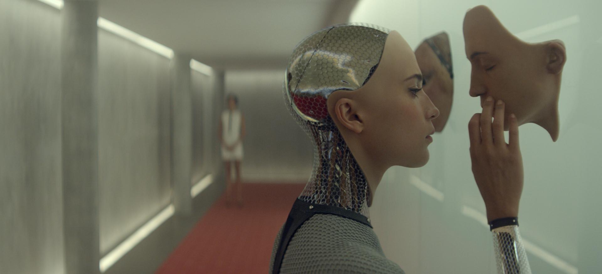 """Tehisintellekti oleme siiani kohanud vaid ulmefilmides. Pildil kaader filmist """"Ex Machina"""" (2015). (CC by 2.0)"""