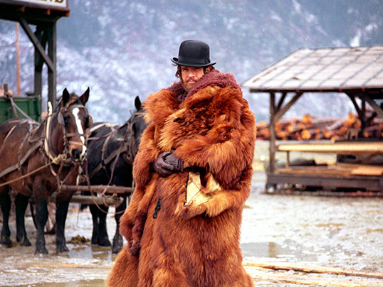 "Warren Beatty Robert Altmani filmis ""McCabe & Mrs. Miller"""