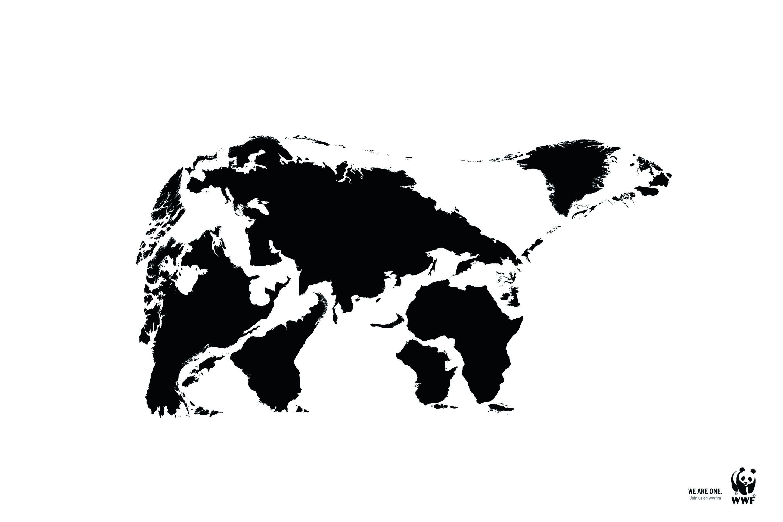 """Maailma Looduse Fondi kampaania """"Me oleme üks"""". Teostus: BBDO Russia Group"""