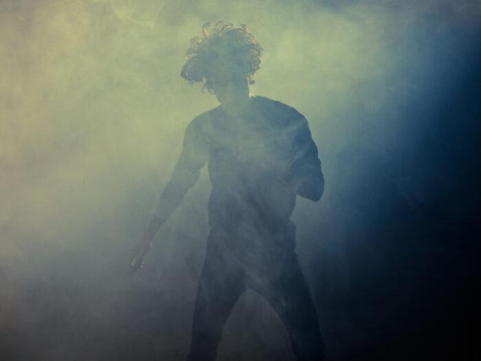 "Kunstnik Michele Rizzo toob NU Performance Festivalil lavale oma teose ""Higher"". Foto: press"