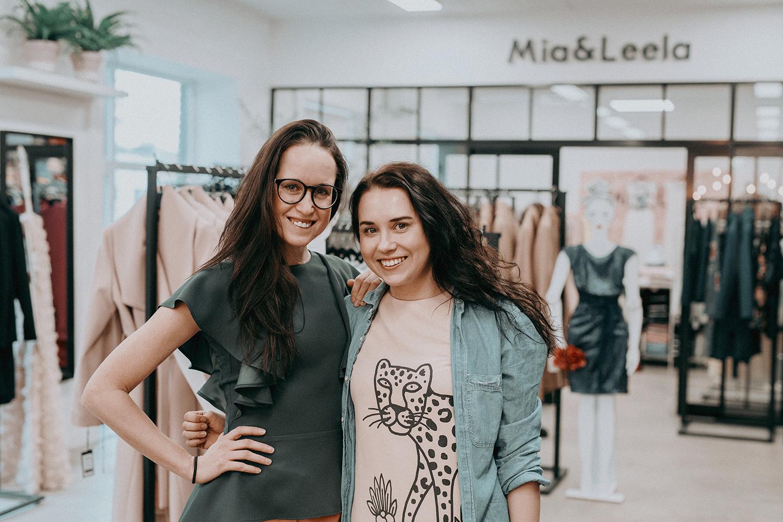 Leela Leer ja  Miia Marie Kotkas. Foto: Ken Mürk