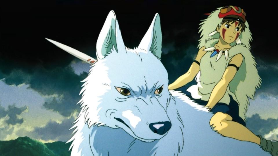 """Kaader Miyazaki filmist """"Printsess Mononoke"""""""