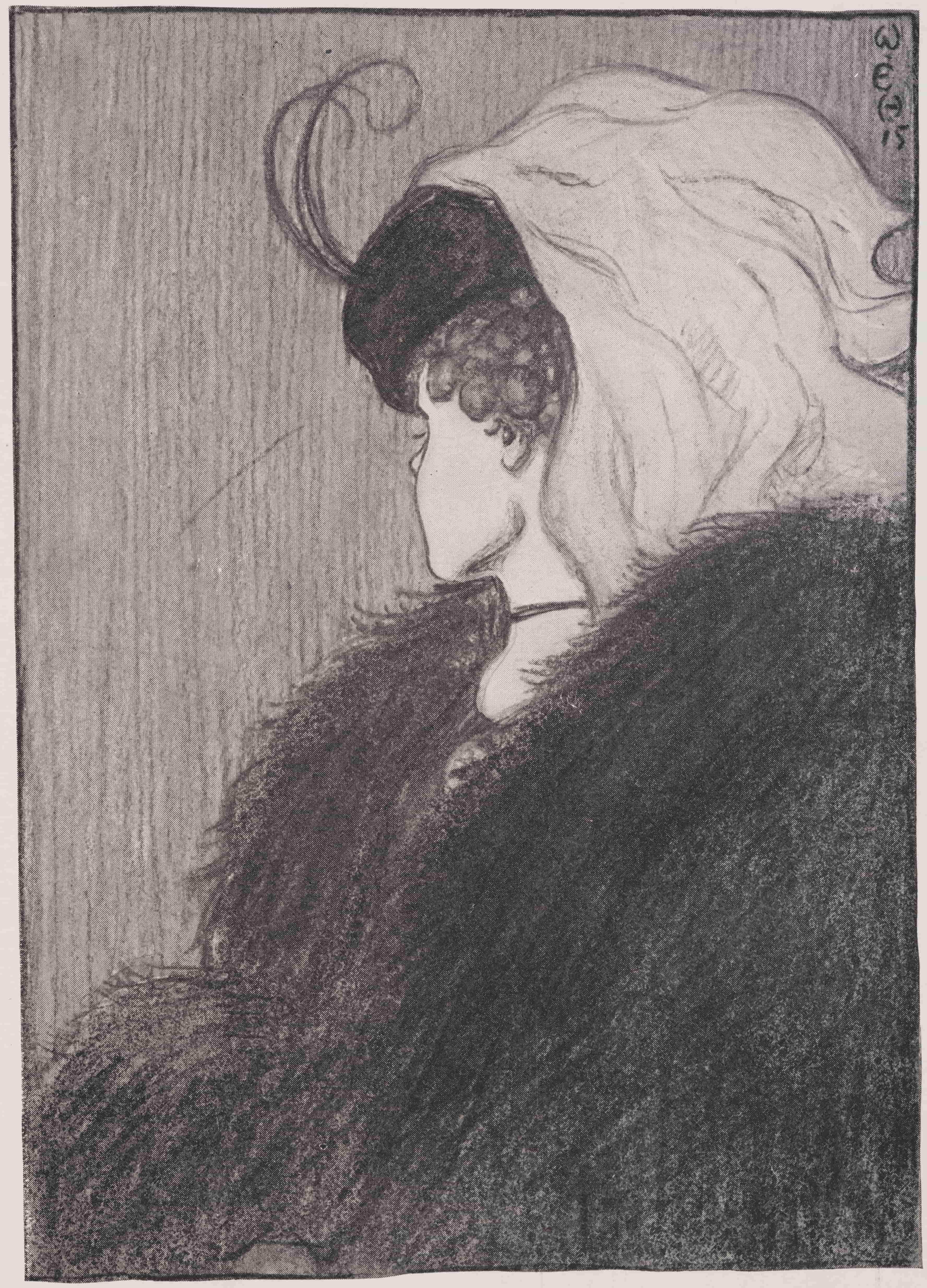 "William Ely Hill, 1915, ""Minu naine ja ämm"" (Wikimedia Commons)"