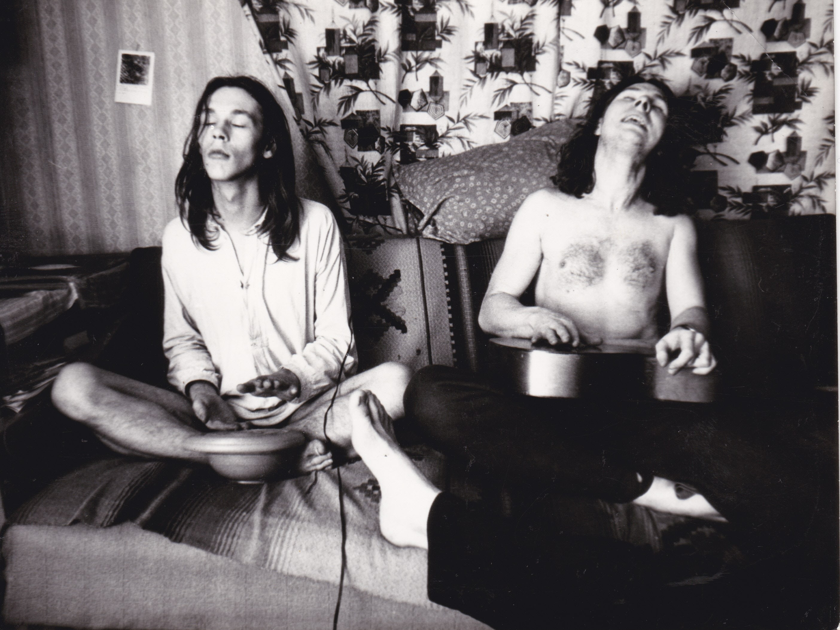Kohalikud hipid 1980ndate alguses. Foto: erakogu