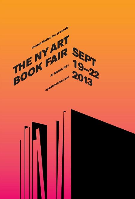 NY Art Book Fair 2013 plakat