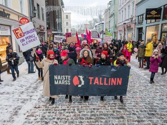 Naiste marss. Foto: Jan Vutt