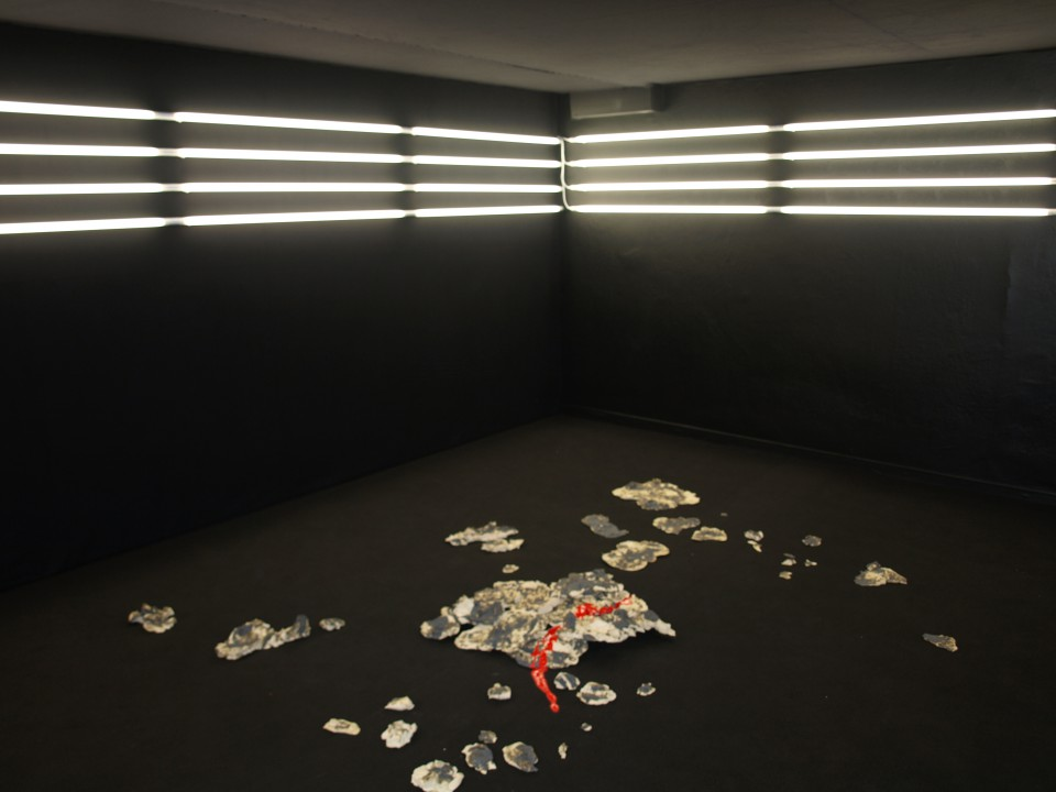 """Kristel Saan näitus """"Sunbed"""""""