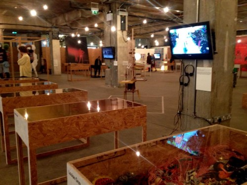 Näitusevaade. Foto aadressilt fredbutlerstyle.blogspot.com