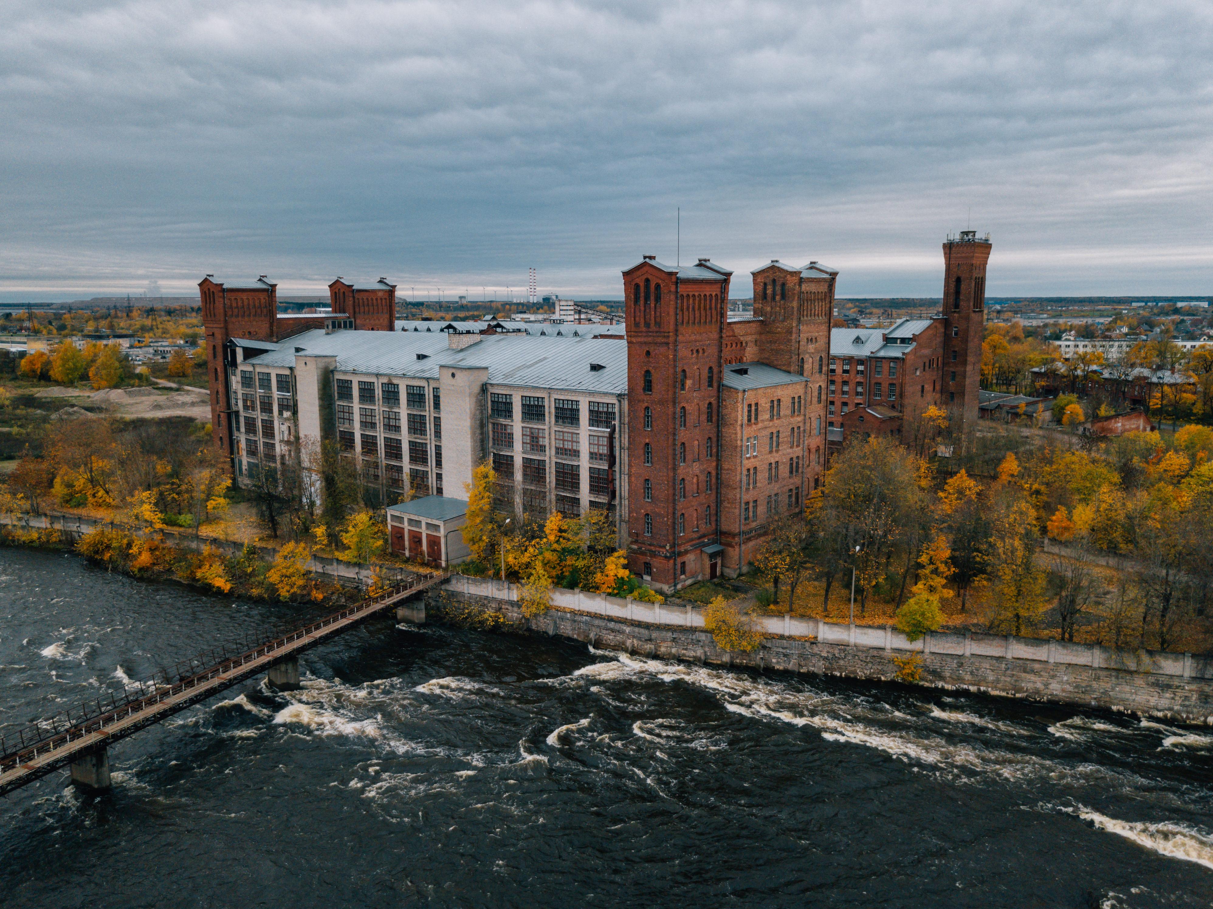 Endise Kreenholmi tehasekompleks. Foto: Tõnu Tunnel