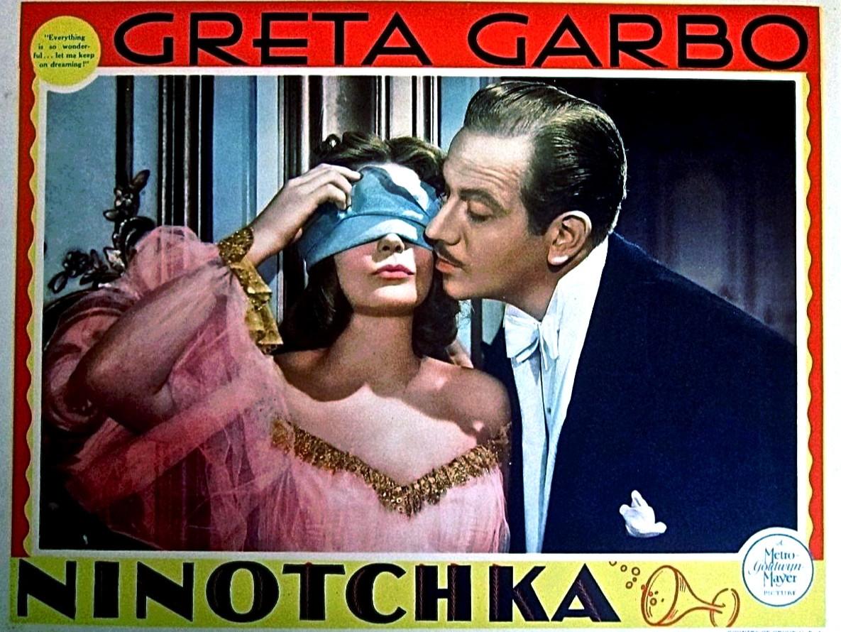 """""""Ninotška"""" (1939) omaaegne promomaterjal"""