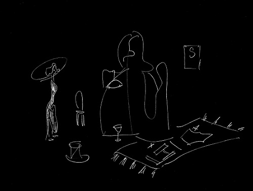 Ola Vasiljeva. Dear Jargot. Sketch 3, 2013