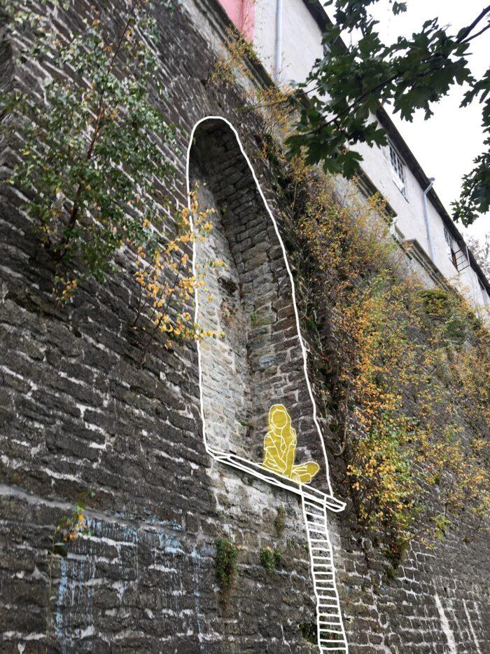 Puurohkeid parke ja vanalinna müüriorvasid saab kasutada omaette olemise kohtade loomiseks. Illustratsioonid: Sten Vendik