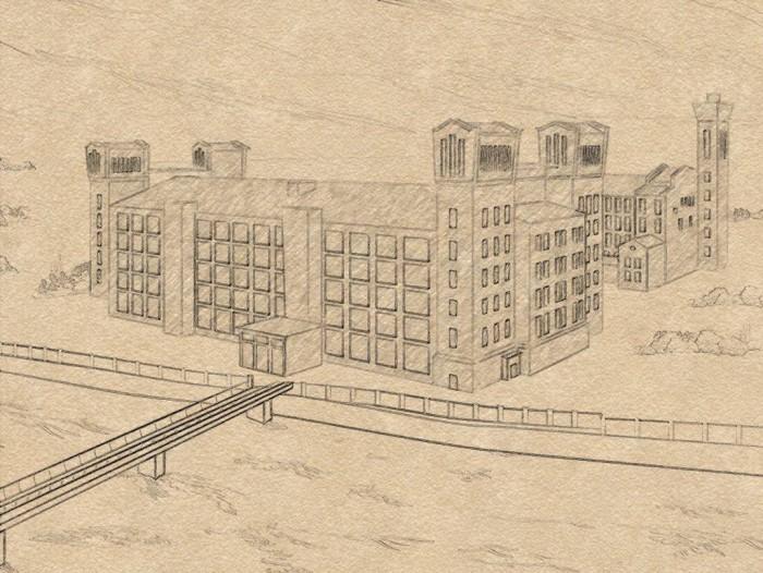 Narva Kreenholmi Manufaktuur. Illustratsioon: press