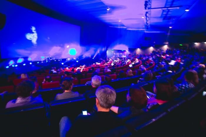 16th Black Nights Film Festival opening ceremony in cinema Kosmos, Tallinn.