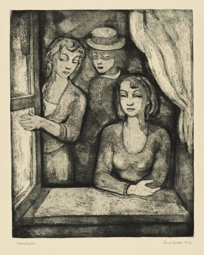 """Aino Bach """"Aknal"""", 1938. Foto: Eesti Kunstimuuseum"""