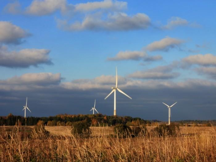 Aseriaru tuulepark Aseri vallas. Foto: Aleksander Kaasik (CC BY-SA 4.0)