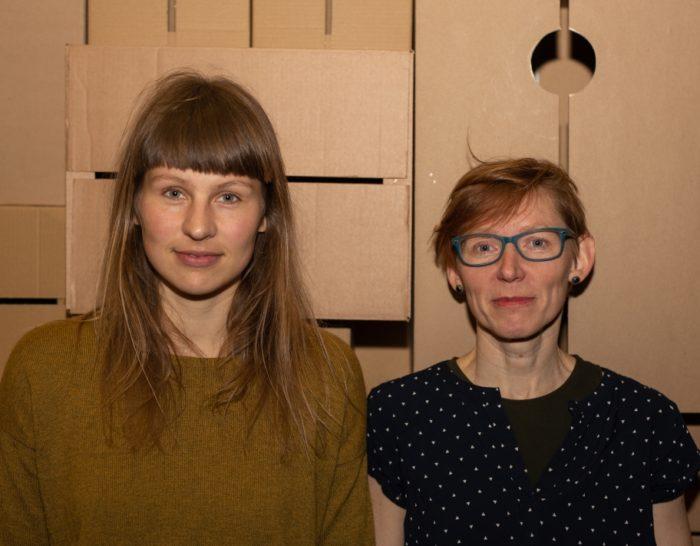 Christin Taul ja Tiina Mölder. Foto: Indrek Rammus