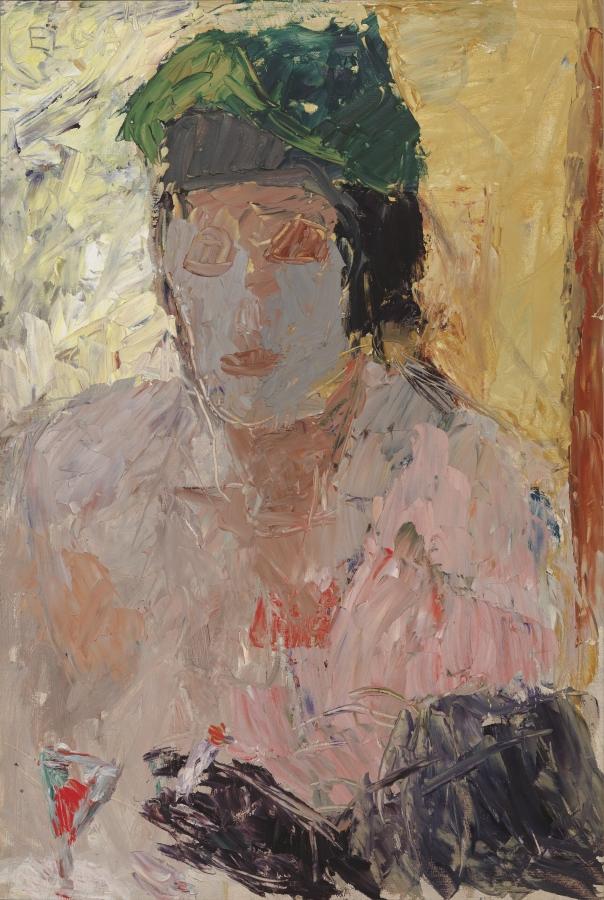 """Elga Sesemann """"Kohvikus"""", 1945. Foto: Soome Rahvusgalerii – Ateneumi kunstimuuseum"""