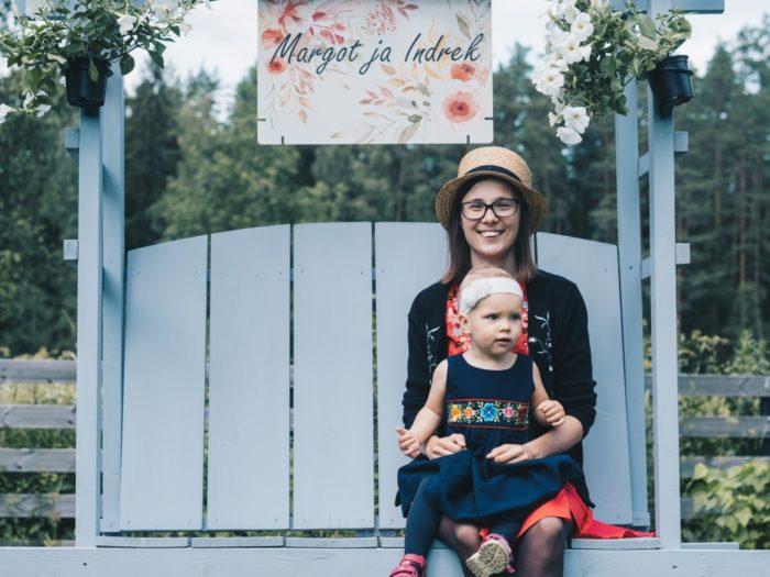 Hanna Linda Korp koos tütar Paulaga. Foto: Ekvilibrist