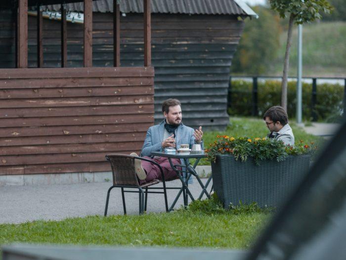 Vasakult Ivan Sergejev ja Francisco Martinez. Foto: Ilja Smirnov