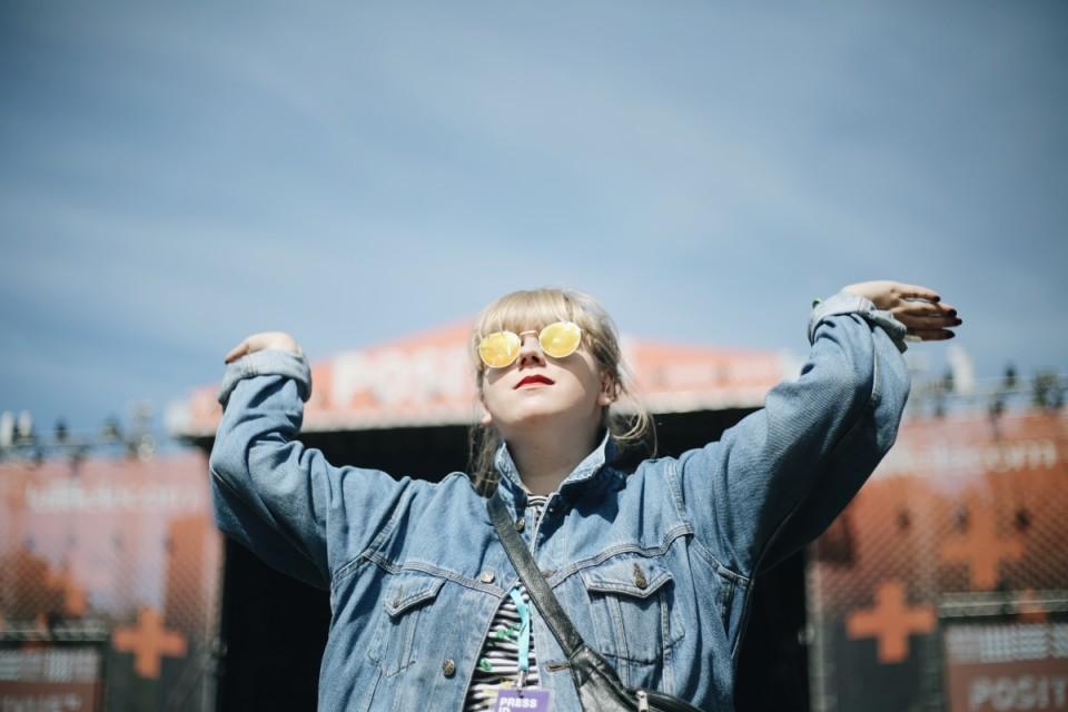 Jaane (25, külastab festivali kolmandat korda)