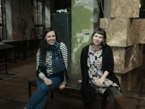 Kristina Paju ja Nele Tammeaid. Foto: Gabriela Liivamägi