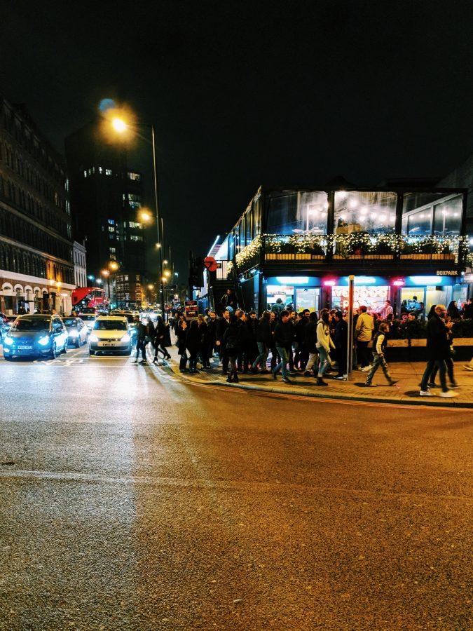 Klubisaba Londonis. Foto: Martin Edvard Ervin