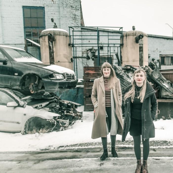 Marie Kliiman ja Kadri Lind. Foto: Gabriela Liivamägi
