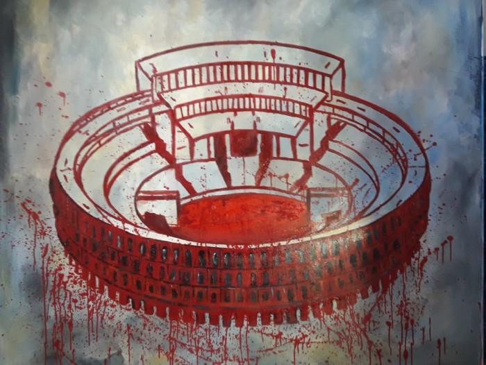 """Marta Stratskase """"Colosseum"""" näituselt """"Ma lasen armastuse sisse"""""""