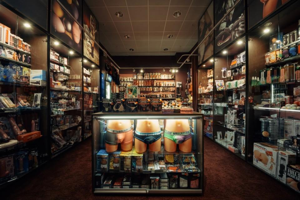 SexMaxi kauplus. Foto: Aleksander Kelpman