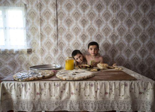 """Foto Silvia Pärmanni näituselt """"Riigid, mida pole olemas"""""""