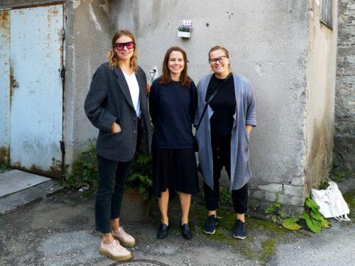 Vasakult: Kärt Ojavee, Marie Vinter ja Annika Kaldoja. Foto: Aleksander Tsapov