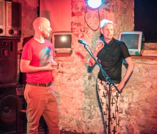 Taavet Jansen ja Chungin. Foto: Peeter Rästa