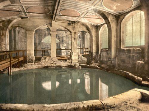 Caldarium ehk kuum vann vanade roomlaste rajatud termis Bathi linnas Inglismaal. Foto: Wikimedia Commons