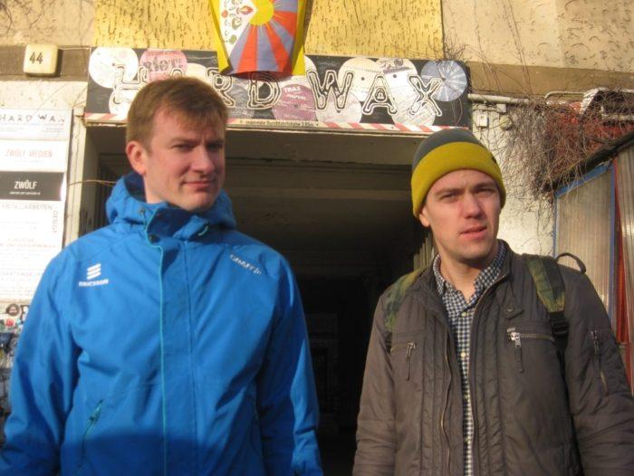 Kalvik ja Leiner. Foto: Anna Leiner