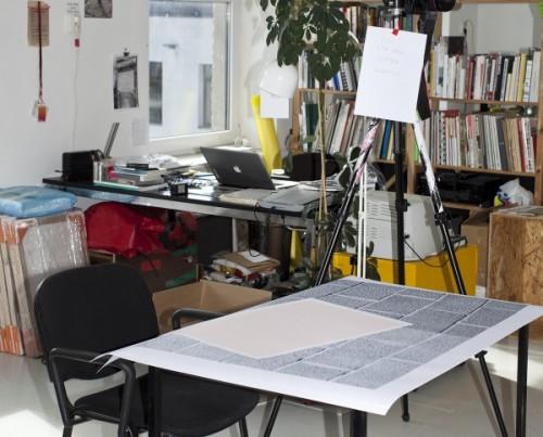 Anu Vahtra stuudio. Foto: Kristina Õllek