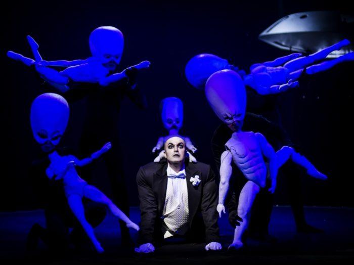 """Rahvaste Teatri """"Tsirkus"""". Foto: Kuldse Maski arhiiv"""