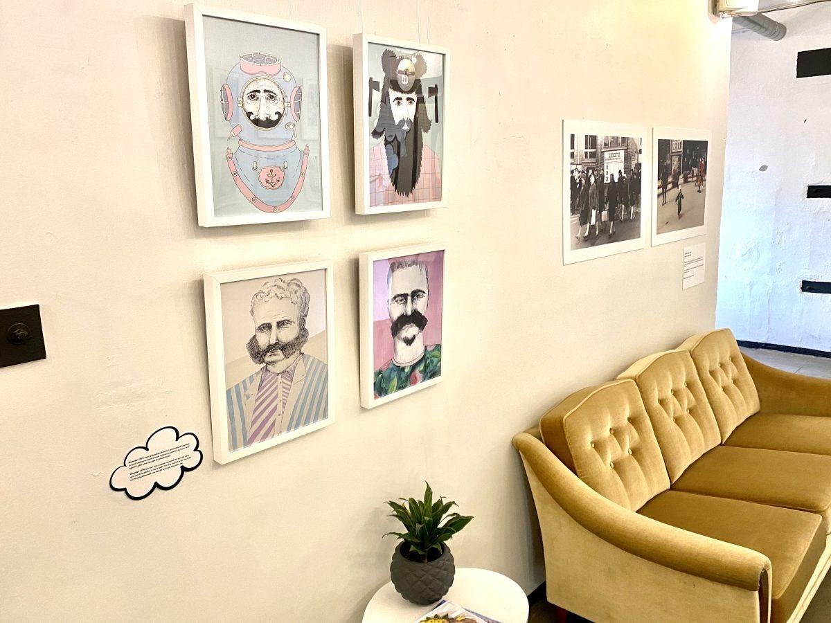 """Triin Valvase näitus """"Huvitavad ajad"""" Telliskivi galeriis. Foto: Sigrid Leppmets"""