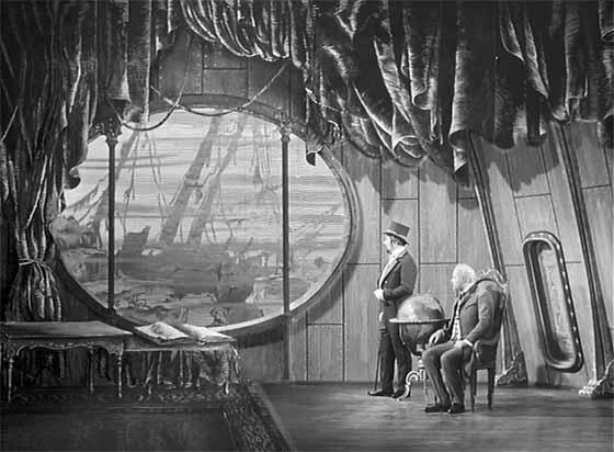 """Kaader Karel Zemani 1958. aastal valminud filmiklassikast """"Jules Verne'i imeline maailm""""."""