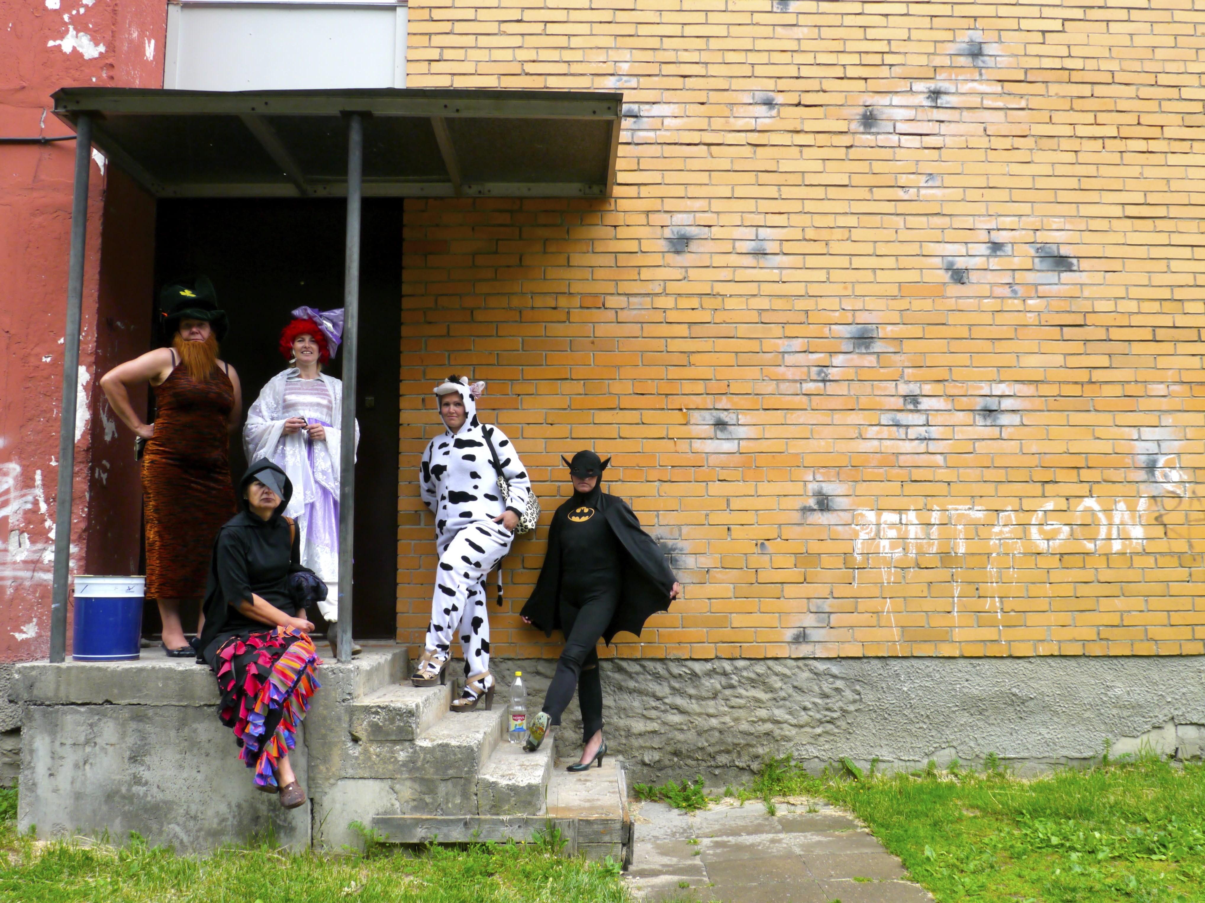 Pärnu Naiste Tugikeskuse liikmed. Foto: Flo Kasearu