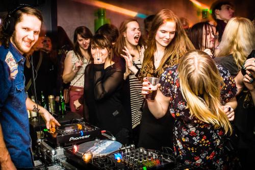 Moment Indie-Disco prallelt. Foto: Tanel Tero