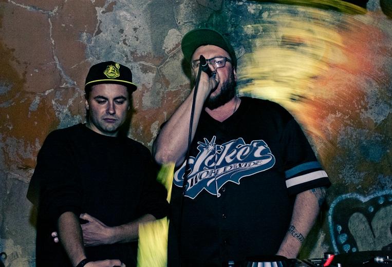 Yo!Hoov. Vasakult: Magnum PI ja Tommyboy. Foto: Evgeni Mironov