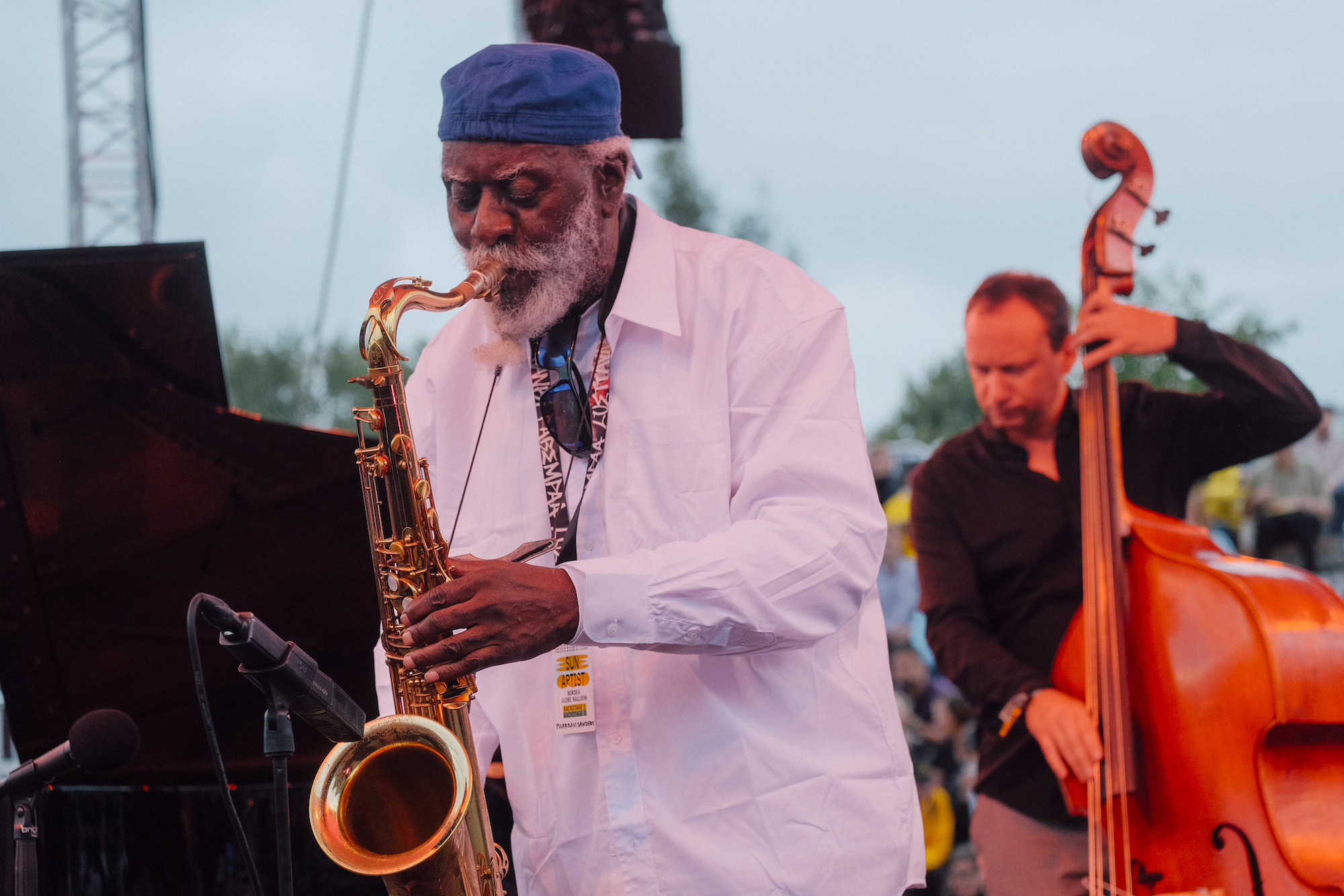 Pharoah Sanders Quartet. Foto: Shoot Hayley