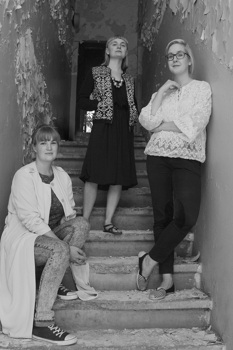 UITajad: Marie Kliiman, Kadri Lind, Liisi Aibel. Foto: Uku Haljasorg