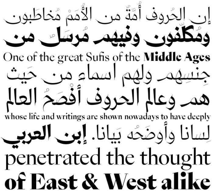 29LT Fontsi kirjatüüp Zeyn, 2014, font. Autorid: Pascal Zoghbi ja Ian Party